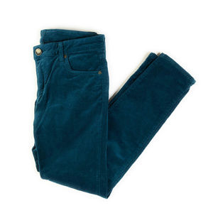 Kut From The Kloth Teal Diana Skinny Cords 6P